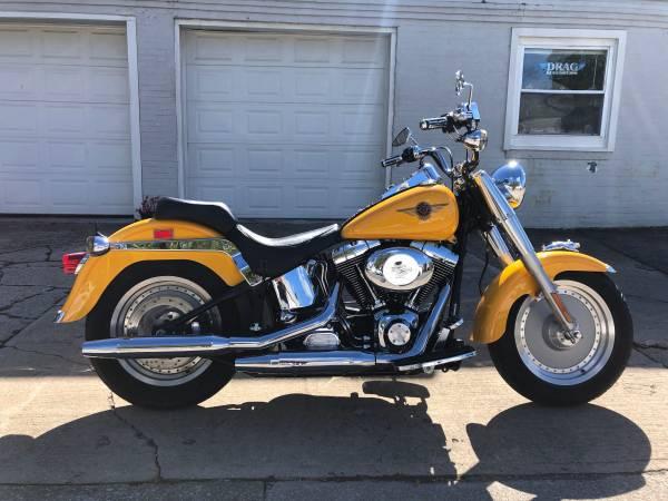 Photo 2000 Harley Davidson Fat Boy FLSTF - $5,995 (Fairport Harbor)