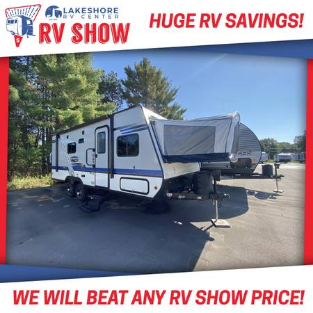 Photo 2019 Used Jay Feather 23RB Travel Trailer RV Cer - OCTOBER SPECIAL - $19,855