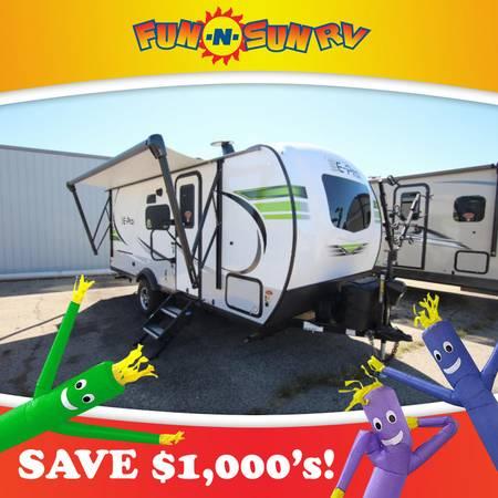Photo 2021 Flagstaff E-Pro 20BHS Travel Trailer RV Cer - $24657.33
