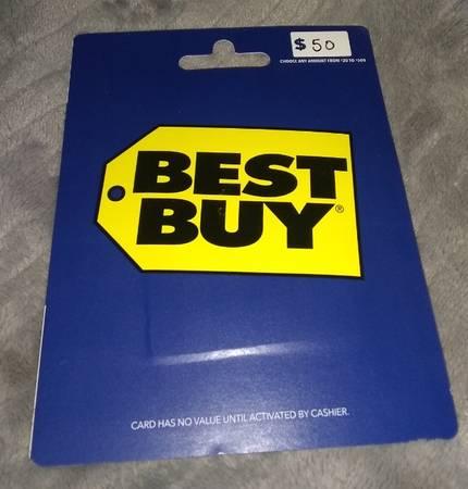 Photo $50 BEST BUY gift card - $40 (Brunswick)