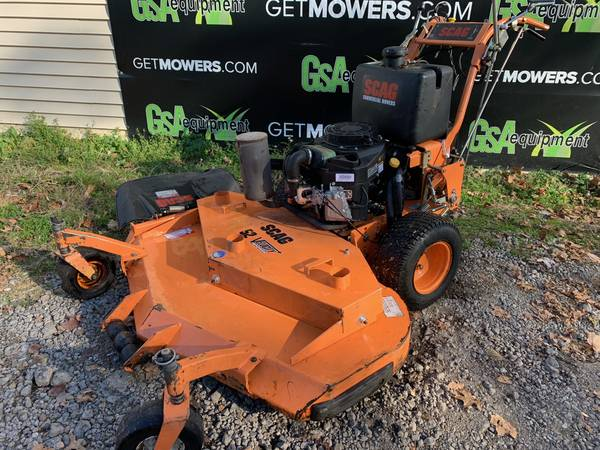 Photo 52IN SCAG COMMERCIAL WALK BEHIND MOWER W KAWASAKI ONLY $65 A MONTH - $2,700 (Barberton)
