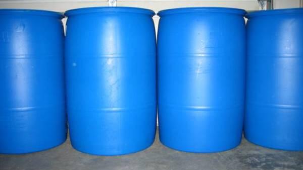 55 gallon plastic food grade barrels - $15 (Mentor ...