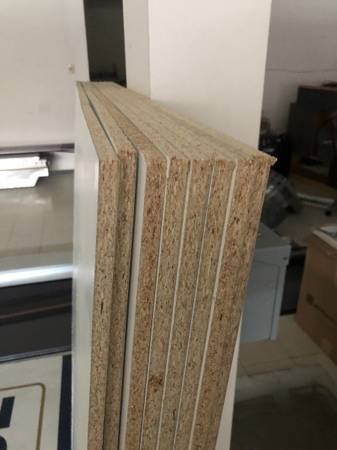 Photo 8 sheets of 12 in 40x61 inch white press board - $20 (Independence)