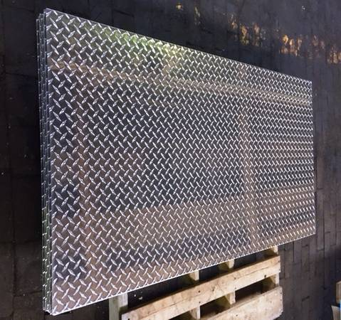 Photo Aluminum Diamond Plate