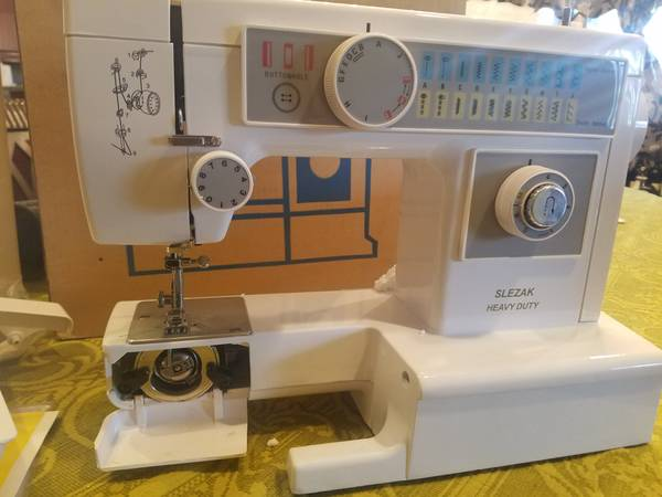 Photo Attn sewers Brand new heavy duty metal sewing machines - $399 (Maple heights)
