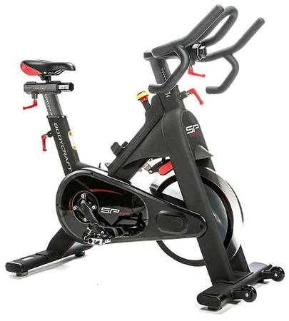 Photo BodyCraft SPT Indoor Spin Cycle Exercise Magnetic Bike Peloton-twin - $999 (Bay Village, OH)