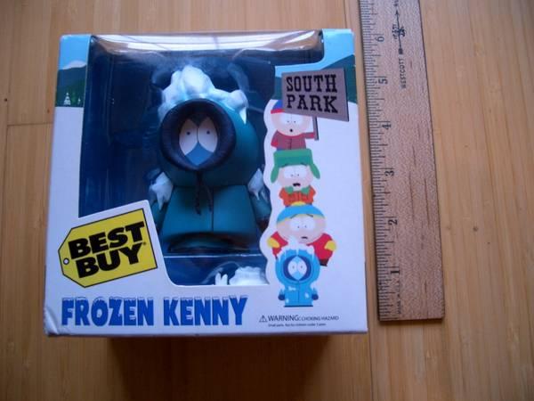 Photo Boxed South Park 39Frozen Kenny39 Best Buy action figure - $20 (Avon)