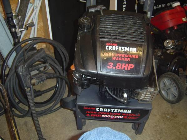 Photo Craftsman 3.8 HP Pressure Washer Engine - $40 (Lakewood)