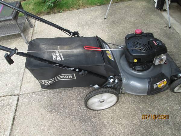 Photo Craftsman lawn mower 5 H.P. - $90 (Parma)