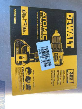 Photo DEWALT Cordless Drill - New In Box - $140 (Mentor)