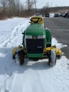 Photo John Deere 325 Garden Tractor 54quot Deck 17HP Kawasaki Hydraulic Lift - $1,600 (Broadview Heights)