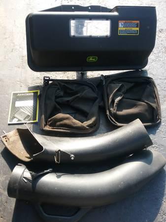 Photo John Deere rear bagger - $175 (Macedonia)