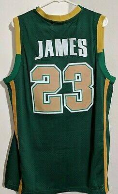 Photo LeBron James Irish high school basketball jersey - $60 (Cleveland)