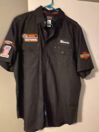 Photo Mens Harley Dealer Shirt - $40 (Berea)