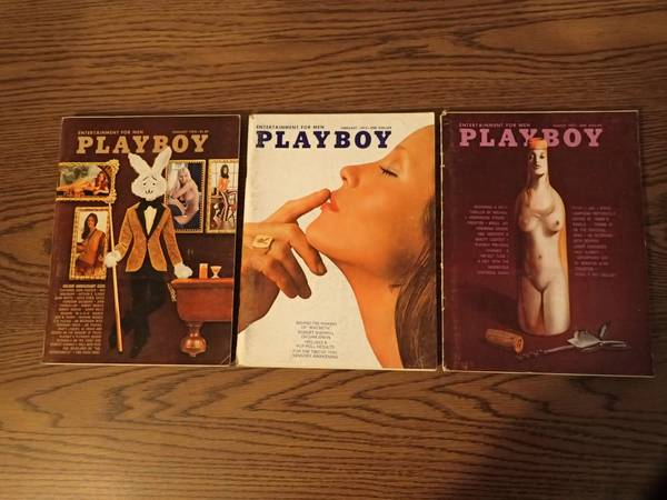 Photo Playboy Complete Year 12-Issues 1972 John Cheever Michael Crichton - $30 (Lorain)