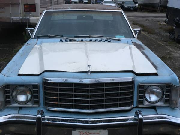 Photo Rare 1st Gen. 1977 Ford Granada Coupe For Sale By Veteran In Need - $2,500 (Bay Village)
