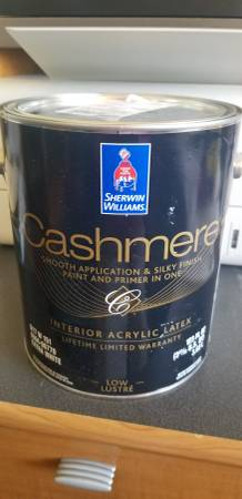 Photo Sherwin Williams Gray Screen Paint - 3 Gallons $25 each - $25 (Parma)