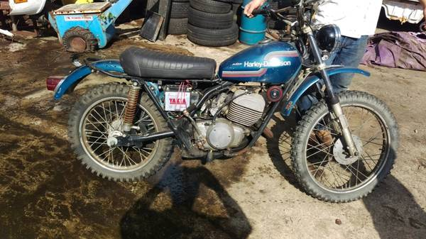 Photo Vintage 1975 Harley Davidson SX 250 AND SS 250 - $2200
