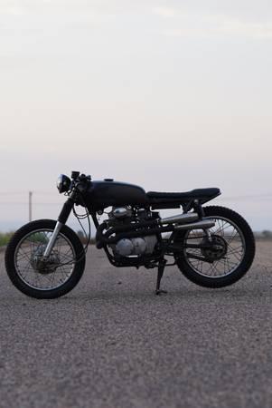 Photo 1970 Honda CB350 cafe racer build - $4,000 (Albuquerque)