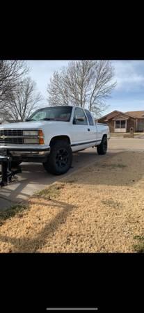 Photo 1993 Chevrolet Silverado 1500 z71 - $5000 (Clovis)