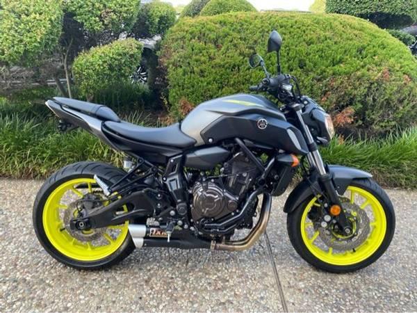 Photo 2018 Yamaha MT-07 - $8,472 (Yamaha MT-07)