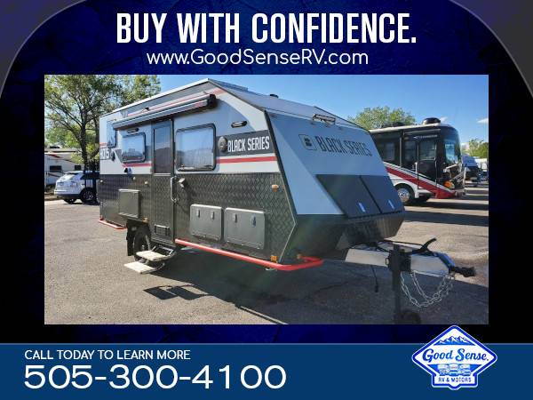Photo 2021 Black Series HQ15 2239 Travel Trailer  BUILT FOR OFF-ROAD  - $58,900 (Albuquerque)