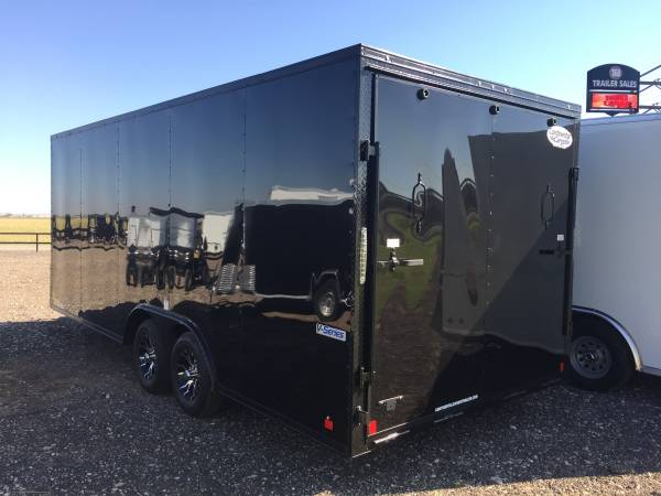 Photo 2021 Blacked Out 8.5X20X7 Continental Cargo Car Hauler - 5200LB Axles - $8,795 (Lubbock)