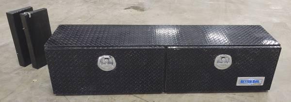 Photo Better Built Black Aluminum Top Mount Truck Box 72 x 18 x 18 - $459 (Texico, NM)