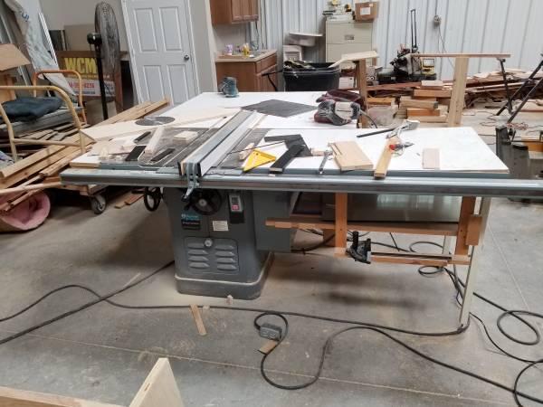 Photo Delta Rockwell restored table saw drill press - $1,500 (Clovis)