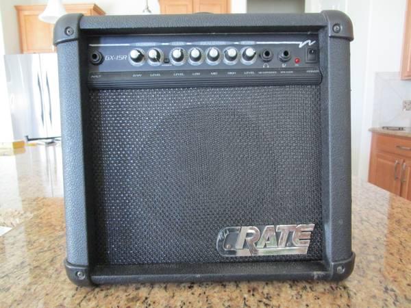 Photo Electric Guitar Amp, Crate Made in U.S.A. - $60 (Rio Rancho, NM)
