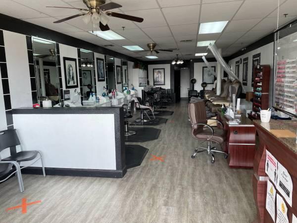 Photo Hair  nail salon for sale - $40,000 (Clovis)