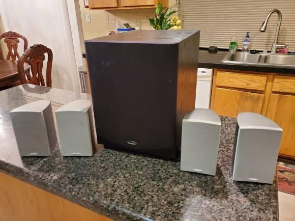 Photo Paradigm surround sound speakers - $200 (Albuquerque)