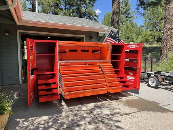 Photo Snap-On Master Series Tool Box - $18,000 (Flagstaff, Arizona)