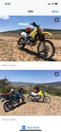 Photo Suzuki drz400 - $2,600 (Taos)