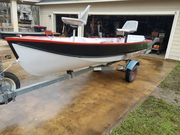 Photo 1439 boat and trailer Trade - $1,550 (Fulshear)