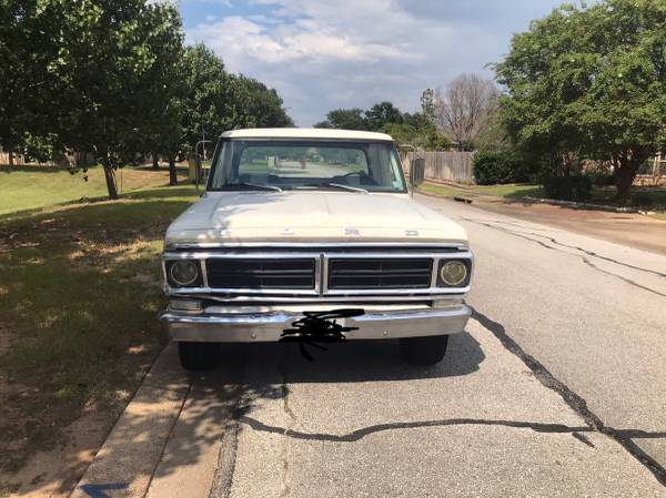 Photo 1971 Ford F-100 - $7,500 (College station)