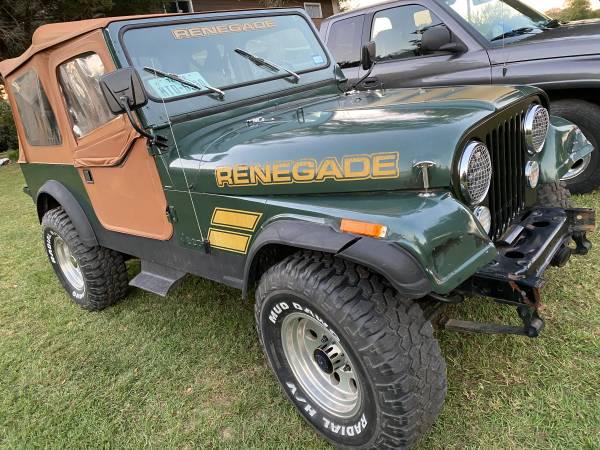 Photo 1983 Jeep CJ7 - $9,000 (Franklin)