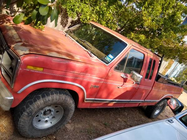 Photo 1984 ford f 250 - $2000 (College Station)