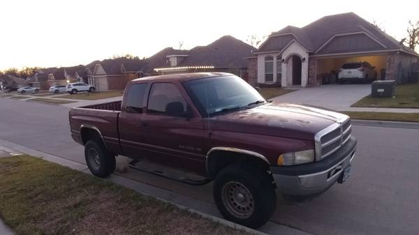 Photo 2001 Dodge Ram 1500 4x4 - $3500 (bryan)