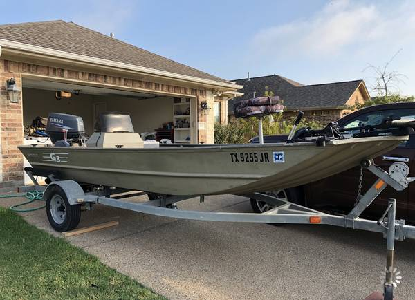 Photo 2002 G3 Boat - $6500 (College Station)