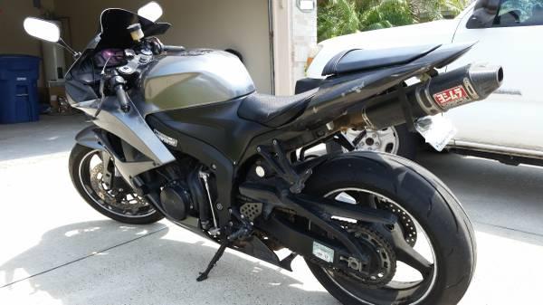 Photo 2008 Honda CBR 600rr - $6,000 (Pflugerville)