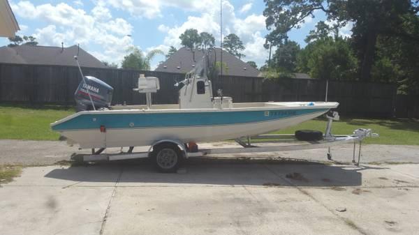 Photo 21 ft Center Console Bay Boat - $7,499 (Kingwood)