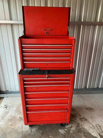 Photo 27quot Snap-On Toolbox Chest Tool Cabinet - $400