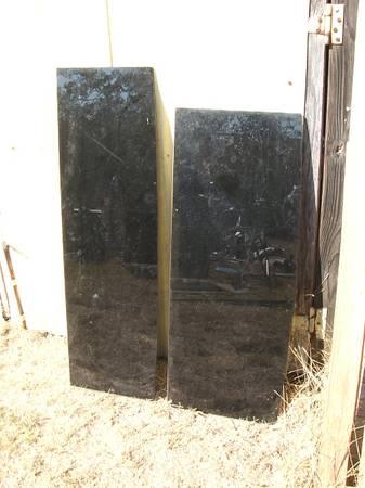 Photo 2 black tempered glass shelves - $25 (Lake Somerville)