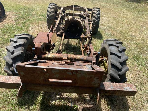 Photo CJ3A Willys Jeep chassis - $500 (Anderson)