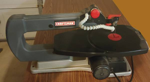 Photo Craftsman scroll saw 18quot - $80 (College Station)