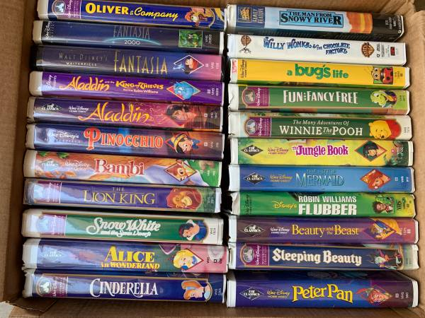 Photo Disney VHS - $50 (South Manchaca)