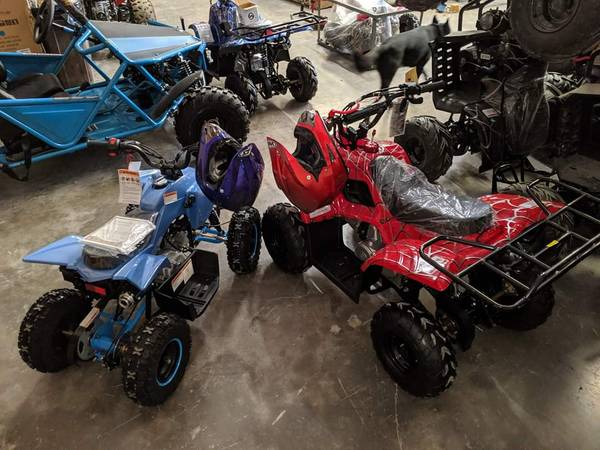Photo Holiday special Dirtbikes UTV ATV Well beat any local dealer - $799 (San Marcos Can Deliver  Finance)