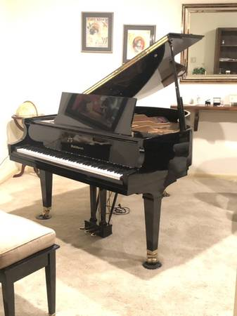 Photo PRICE REDUCED BALDWIN BABY GRAND PIANO Model R 1996 5 8 EXCELLENT - $5,950 (Bryan)
