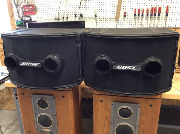 Photo Pair- Bose 802 Professional Loudspeakers - $425 (College Station)